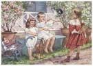 Cornelis Jetses (1873-1955)  -  Uit: Ot en Sien, Voor scholen in Indie - Postcard -  C11611-1