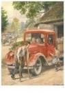 Cornelis Jetses (1873-1955)  -  Buurtkinderen - Postcard -  C11613-1
