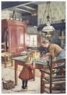 Cornelis Jetses (1873-1955)  -  Uit: De wereld in - Postcard -  C11617-1