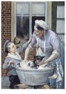 Cornelis Jetses (1873-1955)  -  Uit: Pim en Mien - Postcard -  C11622-1