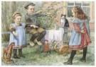 Cornelis Jetses (1873-1955)  -  Uit: Nog bij moeder - Postcard -  C11623-1