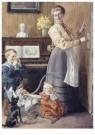 Cornelis Jetses (1873-1955)  -  Uit: Pim en Mien - Postcard -  C11624-1