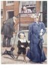 Cornelis Jetses (1873-1955)  -  Uit: Pim en Mien - Postcard -  C11626-1