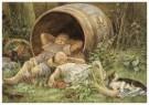 Cornelis Jetses (1873-1955)  -  Uit: Nog bij moeder - Postcard -  C11627-1