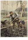 Cornelis Jetses (1873-1955)  -  Uit: Dicht bij huis - Postcard -  C11629-1