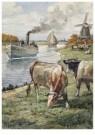 Cornelis Jetses (1873-1955)  -  Uit: Dicht bij huis - Postcard -  C11634-1