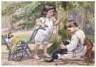 Cornelis Jetses (1873-1955)  -  Uit: Ot en Sien, Voor scholen in Indie - Postcard -  C11642-1