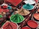 Karin van Oostrom  -  Kleuren van India, Puri - Postcard -  C11842-1