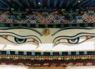 Karin van Oostrom  -  De alziende ogen van Buddha, Tibet - Postcard -  C11854-1