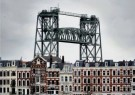 Flip Franssen (1956)  -  Rotterdam, Spoorbrug De Hef, 2008 - Postcard -  C11864-1