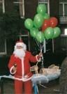 Lana Hogenstijn  -  Luchtige kerst, 2005 - Postcard -  C11875-1