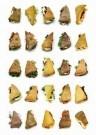 Peter Janssen (1951)  -  Portraits of mozzarella 10001 - Postcard -  C11890-1