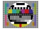 Anoniem  -  Testbeeld TV - Postcard -  C12041-1