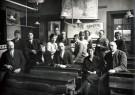 Anoniem,  -  Leraren van een Rotterdamse school, circa 1935 - Postcard -  C12374-1