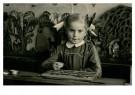 Anoniem,  -  Leren lezen met het leesplankje, cica 1950 - Postcard -  C12381-1