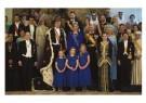 -  Groepsfoto Koning Willem-Alexander,Koningin Maxima - Postcard -  C12468-1