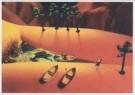 Michel Moers (1947)  -  Japanese Gardens: 'Hello! (Et l'eau)' - Postcard -  C1825-1