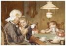 Cornelis Jetses (1873-1955)  -  Uit: Nog bij moeder - Postcard -  C3397-1
