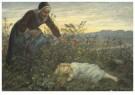 Cornelis Jetses (1873-1955)  -  Uit: Nog bij moeder - Postcard -  C3402-1