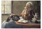 Cornelis Jetses (1873-1955)  -  Uit: Nog bij moeder - Postcard -  C3404-1