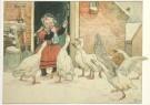Cornelis Jetses (1873-1955)  -  De Zingende Kinderwereld - Postcard -  C3408-1