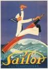 Jan Lavies (1902-2005)  -  Sailor, vulpenhouders, affiche 1931 - Postcard -  C3571-1