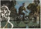 Aldous Eveleigh (1951)  -  A.Eveleigh/Funny Cyclist. - Postcard -  C4945-1