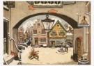 Johan Fabricius (1899-1981)  -  Uit De vrolijke bruiloft van Arretje en Annetje, D - Postcard -  C5203-1