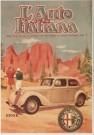 Alfa Romeo  -  Alfa Romeo/Aff. l'Auto Italian - Postcard -  C5688-1