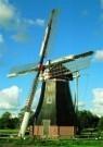 Hendrik-Willem Nieuwenhuis  -  Poldermolen - Postcard -  C6650-1