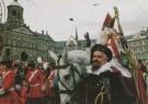 H.H. Straatmeijer  -  Sint op paard op de Dam - Postcard -  C6759-1