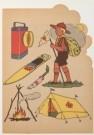 Jan Lavies (1902-2005)  -  Omslag kleurboek, 1945-50 - Postcard -  C6923-1