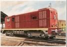 Charles Burki (1909-1994)  -  C.Burki/Locomotief 2400 - Postcard -  C7141-1