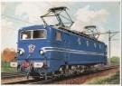 Charles Burki (1909-1994)  -  C.Burki/Electr. locomotief - Postcard -  C7142-1