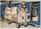 Charles Burki (1909-1994)  -  C.Burki/Postvervoer. - Postcard -  C7153-1