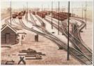 Charles Burki (1909-1994)  -  C.Burki/Verdeelsporen. - Postcard -  C7162-1