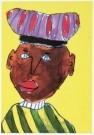 Mara Lynn Aronson  -  Zwarte Piet - Postcard -  C7277-1
