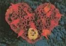 Mirja de Vries  -  Flowerhearts 20 - Postcard -  C7422-1