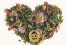 Mirja de Vries  -  Flowerhearts 27 - Postcard -  C7429-1