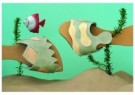 Renate Volleberg  -  Beach slippers - Postcard -  C7589-1