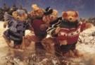 Mirja de Vries  -  Col.Lyda's Bear - Postcard -  C8263-1