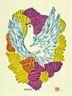 Makoto Ueno (1909-1980)  -  Spring song - Postcard -  C8282-1