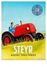 Jan Lavies (1902-2005)  -  Steyer Diesel tractor - Postcard -  C8523-1