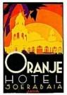Jan Lavies (1902-2005)  -  Kofferetiket Oranje - Postcard -  C8530-1