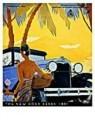 Jan Lavies (1902-2005)  -  Omslag Kon.Ver. Motor - Postcard -  C8531-1