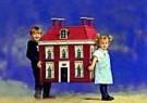 Peter Smith  -  Kindje met huis - Postcard -  C8666-1