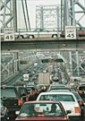 Steven Siegel (1953)  -  George Washington Bridge 1995 - Postcard -  C8875-1