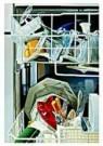 Tjalf Sparnaay (1954)  -  De Vaatwasser - Postcard -  C9113-1