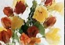 Martie Seesing  -  Tulips nr. IV, 1998 - Postcard -  C9336-1