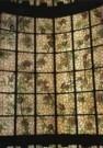 Erik de Beer  -  Glas in lood rozenstruik, 1997 - Postcard -  C9361-1